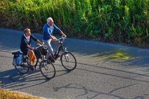 Biking, Legacy Trail, Local Activities, Man, Women